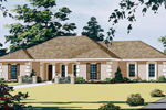 Ranch Home With Stucco Exterior And Decorative Corner Quoins