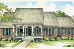 House Plan Front of Home 020D-0276