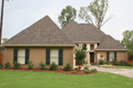Ranch House Plan Front Photo 01 - Pleasant Hill Ranch Home 020D-0295 | House Plans and More