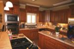 Ranch House Plan Kitchen Photo 01 - Pleasant Hill Ranch Home 020D-0295 | House Plans and More