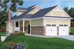 Craftsman House Plan Front Photo 02 - Simeon Tudor Home 020D-0350 | House Plans and More