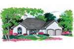 Front of Home -  020D-0354 | House Plans and More