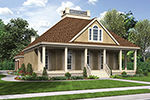 Traditional House Plan Front of House 020D-0356