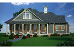 Ranch House Plan Front of House 020D-0357