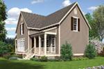 Traditional House Plan Rear Photo 01 - Jefferson Bay Traditional Home 020D-0359 | House Plans and More