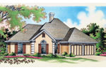 European House Plan Front of House 020D-0361