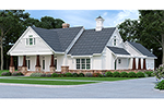 Country House Plan Front of House 020D-0365