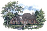 Traditional House Plan Front of House 020D-0367