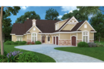 Traditional House Plan Front of House 020D-0374
