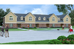 Traditional House Plan Front of House 020D-0379