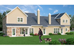 Traditional House Plan Rear Photo 01 -  020D-0381 | House Plans and More