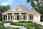 Southern House Plan Front of House 020D-0386