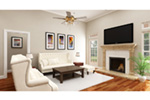 Modern Farmhouse Plan Living Room Photo 01 -  020D-0386 | House Plans and More