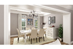 Craftsman House Plan Dining Room Photo 01 -  020D-0389 | House Plans and More