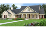 Craftsman House Plan Front of Home -  020D-0389 | House Plans and More