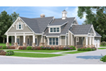 Front of Home - 020D-0391 | House Plans and More