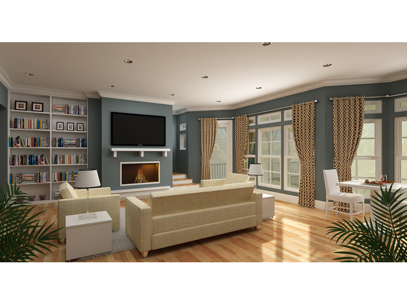 Living Room Photo 01 - 020D-0391 | House Plans and More