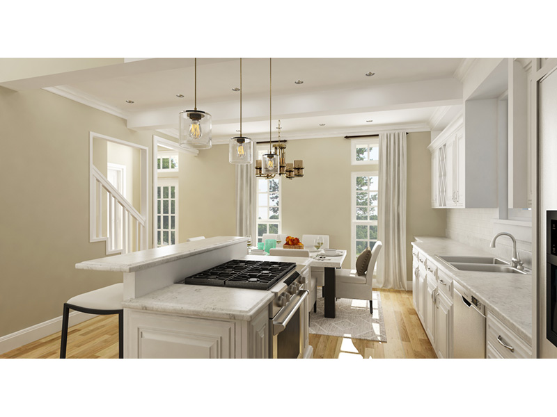 Farmhouse Plan Kitchen Photo 01 - Driscoll Path Southern Cottage 020D-0392 | House Plans and More