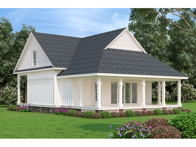 Country House Plan Rear Photo 01 - 020D-0393 | House Plans and More