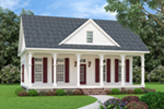 Country House Plan Front of House 020D-0394