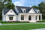 Farmhouse Plan Front of House 020D-0399