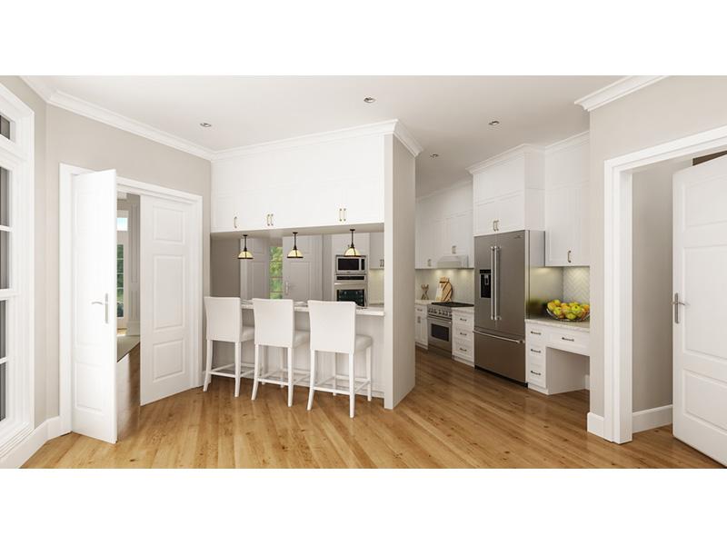 Modern Farmhouse Plan Kitchen Photo 01 - 020D-0399 | House Plans and More