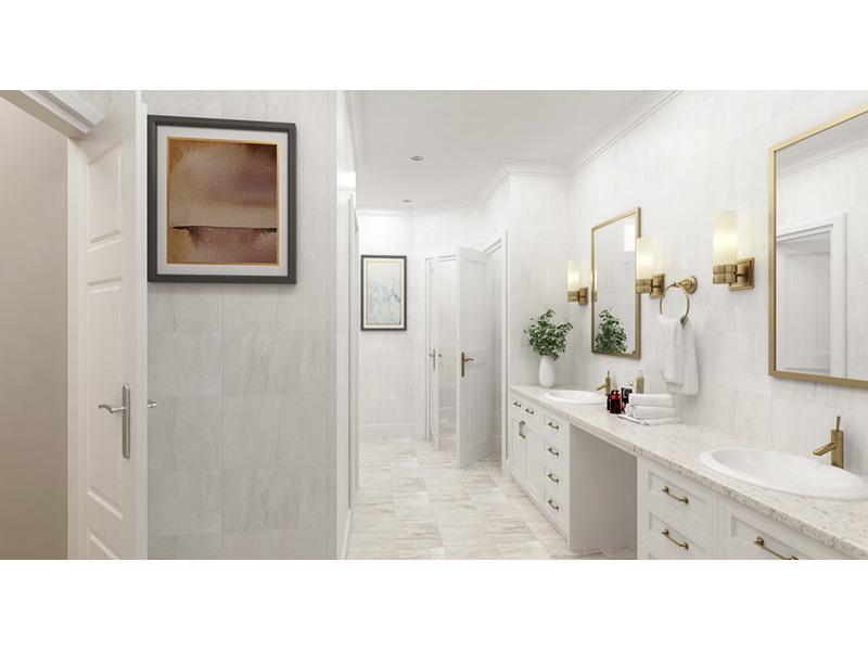 Modern Farmhouse Plan Master Bathroom Photo 01 - 020D-0399 | House Plans and More