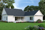 Modern Farmhouse Plan Rear Photo 01 - 020D-0399 | House Plans and More