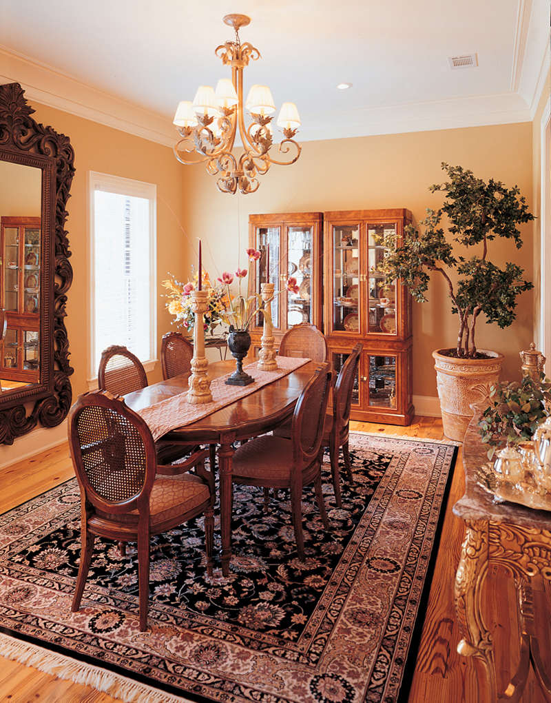 Georgian House Plan Dining Room Photo 01 - Keatington Southern Home 020S-0001 | House Plans and More