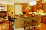 Georgian House Plan Kitchen Photo 01 - Le Claire Georgian Home 020S-0002 | House Plans and More