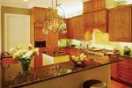 Georgian House Plan Kitchen Photo 02 - Le Claire Georgian Home 020S-0002 | House Plans and More