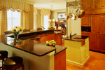 Georgian House Plan Kitchen Photo 04 - Le Claire Georgian Home 020S-0002 | House Plans and More