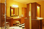 Georgian House Plan Master Bathroom Photo 01 - Le Claire Georgian Home 020S-0002 | House Plans and More