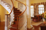 Georgian House Plan Stairs Photo - Le Claire Georgian Home 020S-0002 | House Plans and More