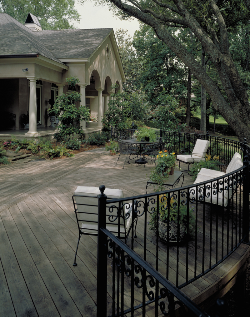 Southern House Plan Deck Photo 01 - Wembleton Traditional Home 020S-0004 | House Plans and More