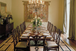Southern House Plan Dining Room Photo 01 - Wembleton Traditional Home 020S-0004 | House Plans and More