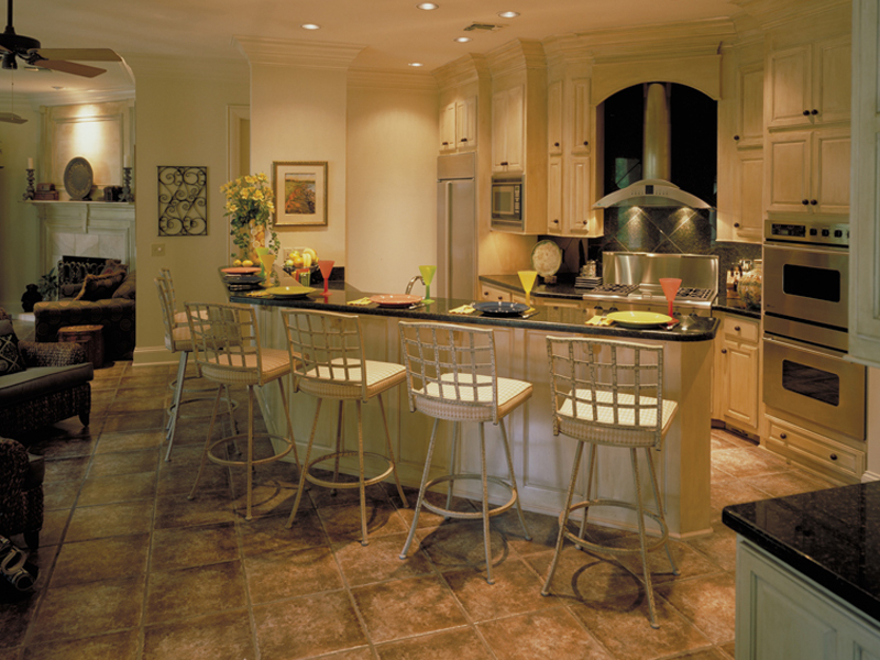 Southern House Plan Kitchen Photo 01 - Wembleton Traditional Home 020S-0004 | House Plans and More