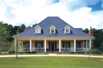 Grand Southern Plantation With Breezy Front Porch