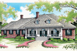 Cape Cod & New England House Plan Front of House 020S-0017