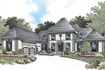 Traditional House Plan Front of House 020S-0019