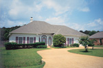 Attractive Hipped Roofed Ranch With Decorative Quoins