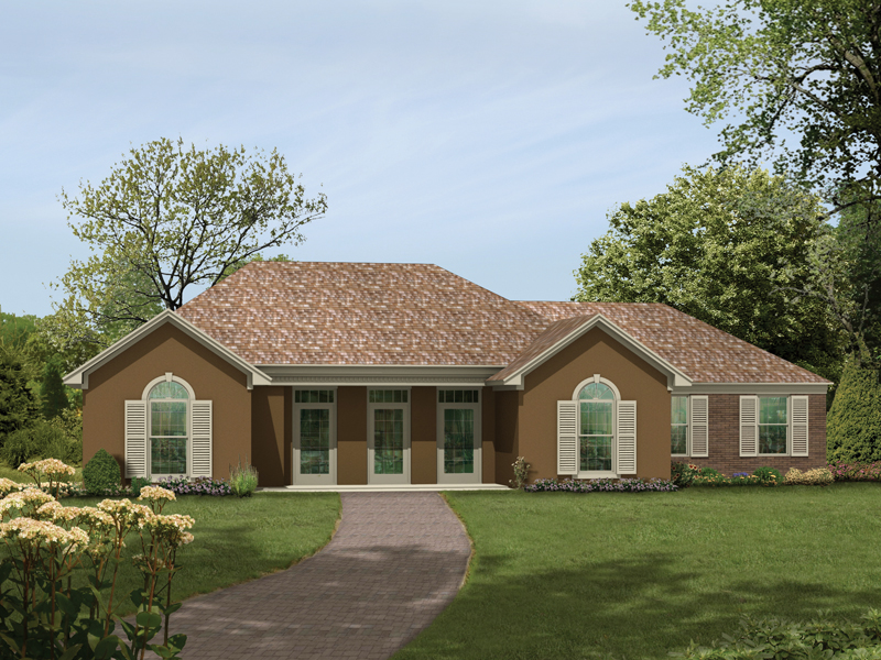 Stylish Windows Tantalize This Ranch Home