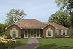 House Plan Front of Home 021D-0007