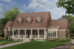 Victorian House Plan Front Photo 01 - Richardson Southern Home 021D-0020   House Plans and More