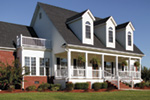 Victorian House Plan Front Photo 03 - Richardson Southern Home 021D-0020   House Plans and More