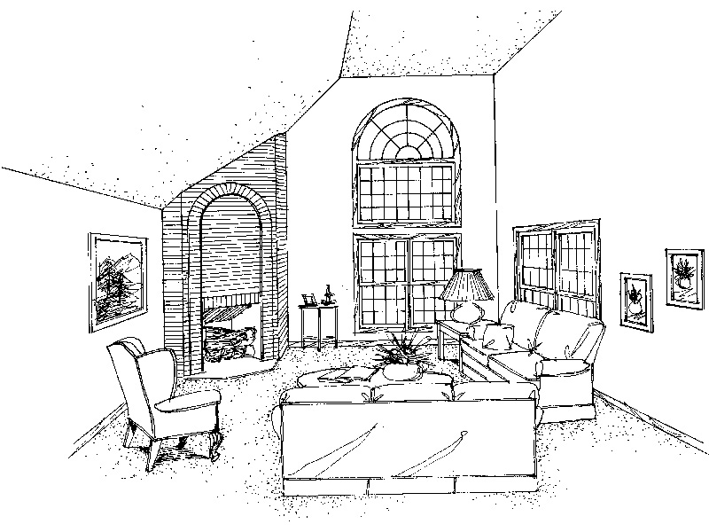 Victorian House Plan Living Room Photo 01 - Richardson Southern Home 021D-0020   House Plans and More