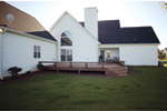 Victorian House Plan Rear Photo 01 - Richardson Southern Home 021D-0020   House Plans and More