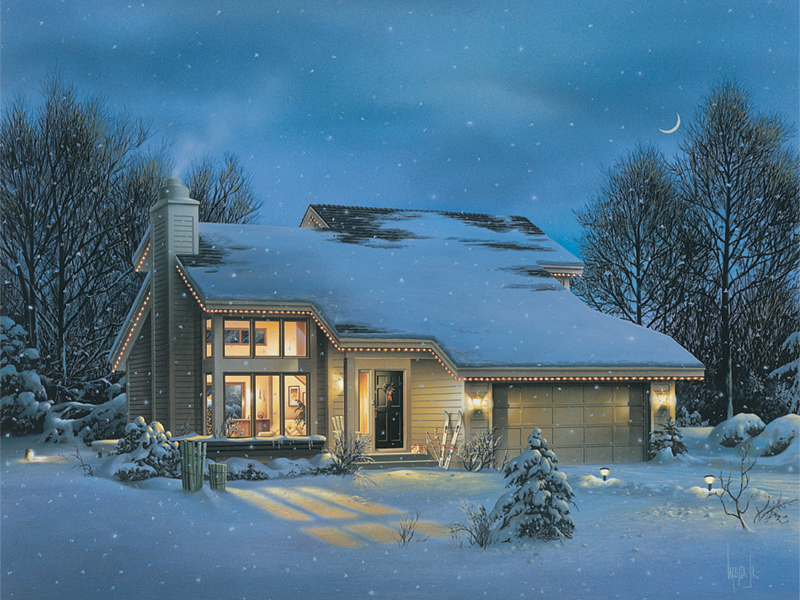 Cozy Contemporary Style House
