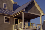 Vacation House Plan Balcony Photo - Parham Raised Coastal Home 024D-0013 | House Plans and More