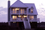 Great Vacation Style Home With Multiple Levels Of Covered Decks For Views